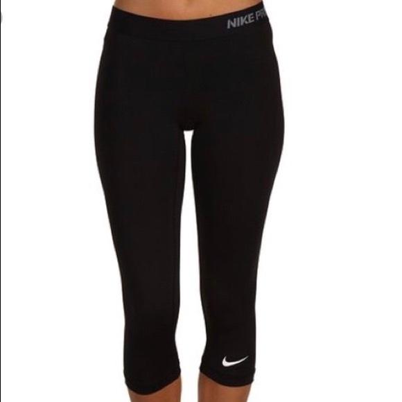 f542056b65bb4 Nike Pants | Pro Crop Leggings | Poshmark